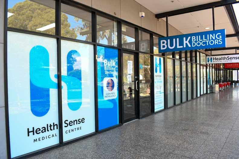 Exterior of Health Sense Medical Centre Fairview Park Bulk Billing Doctors