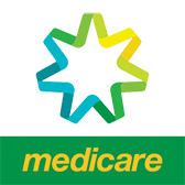 Medicare Logo - Patients supported with Bulk billing health care